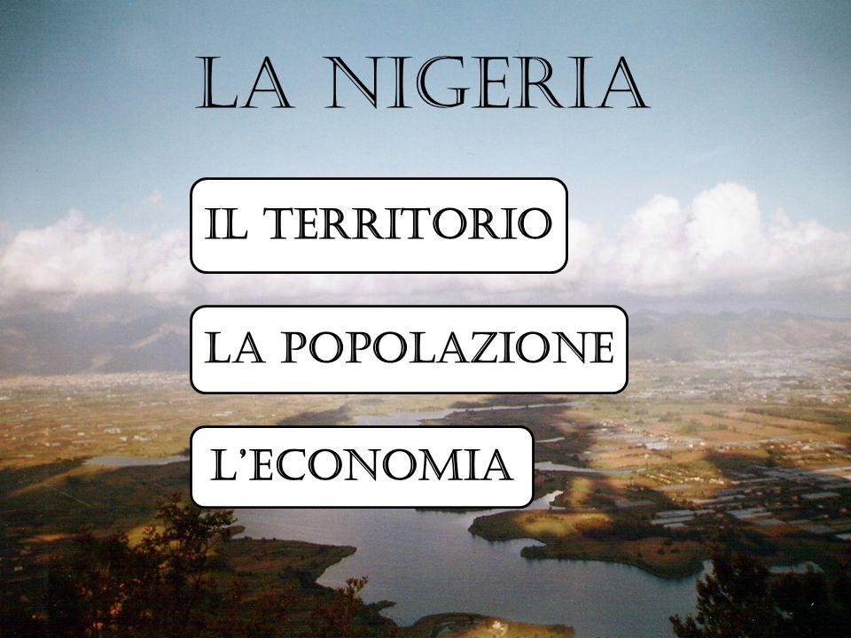 I confini La Nigeria confina a est con il Camerun, a nord-est con il Ciad, a nord con il Niger, a ovest con il Benin e si affaccia a sud sul Golfo di Guinea (Oceano Atlantico).