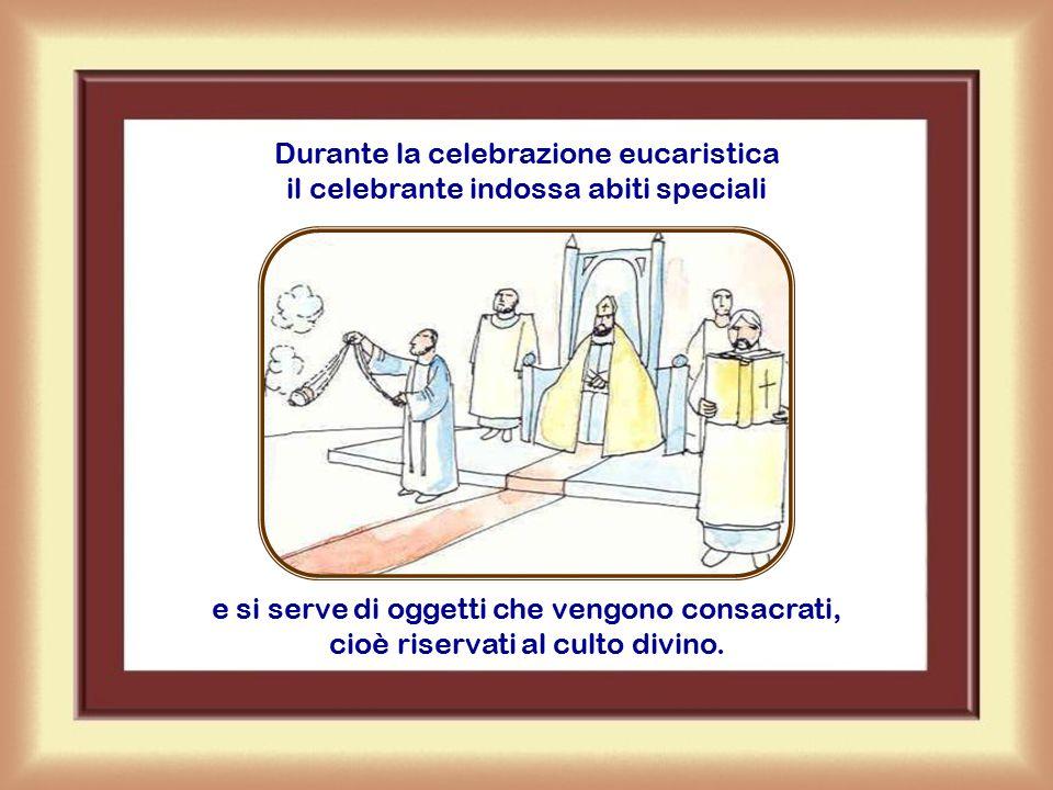 Per poter presiedere e celebrare l'eucaristia occorre aver ricevuto il sacramento dell'ordine, occorre cioè essere sacerdote o vescovo.