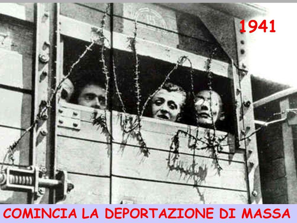 1941 COMINCIA LA DEPORTAZIONE DI MASSA