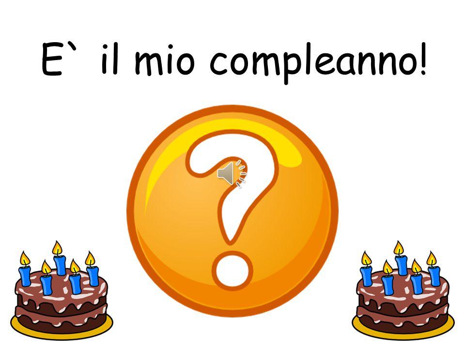 E` il tuo compleanno!