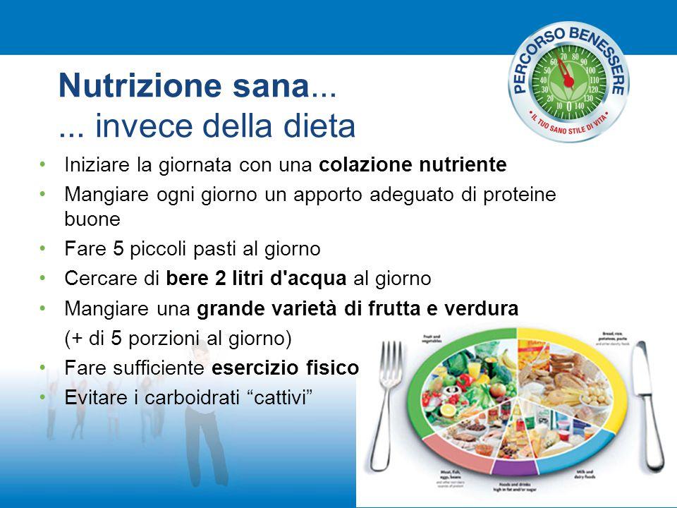 Nutrizione sana......
