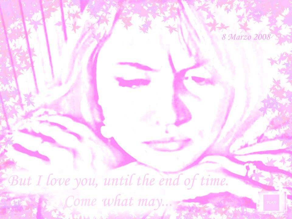 In questo giorno lontano da te……la nostra distanza si fa sentire.Vorrei essere li per abbracciarti… …e farti sentire una vera donna.