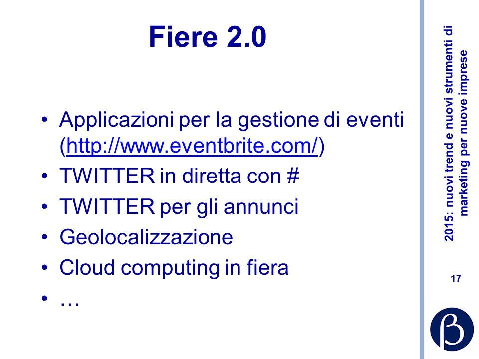 2015: nuovi trend e nuovi strumenti di marketing per nuove imprese 16 Video CV for World of Warcraft Italian Localization https://www.youtube.com/watc