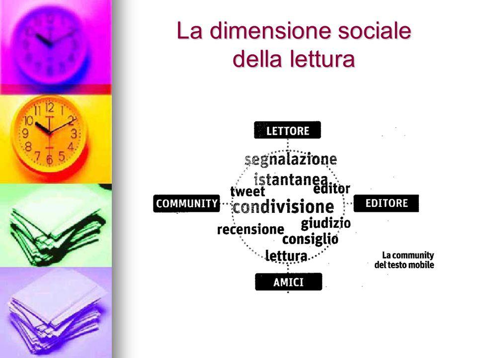 La dimensione sociale della lettura