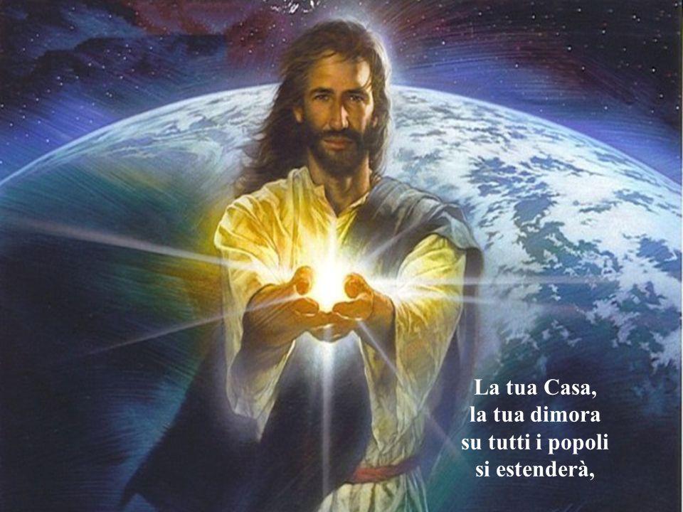 e in Cieli nuovi e Terra nuova il nostro anelito si placherà.