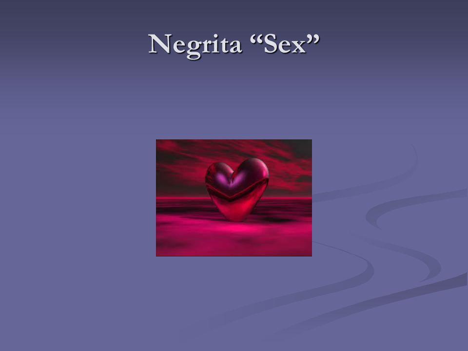 "Negrita ""Sex"""