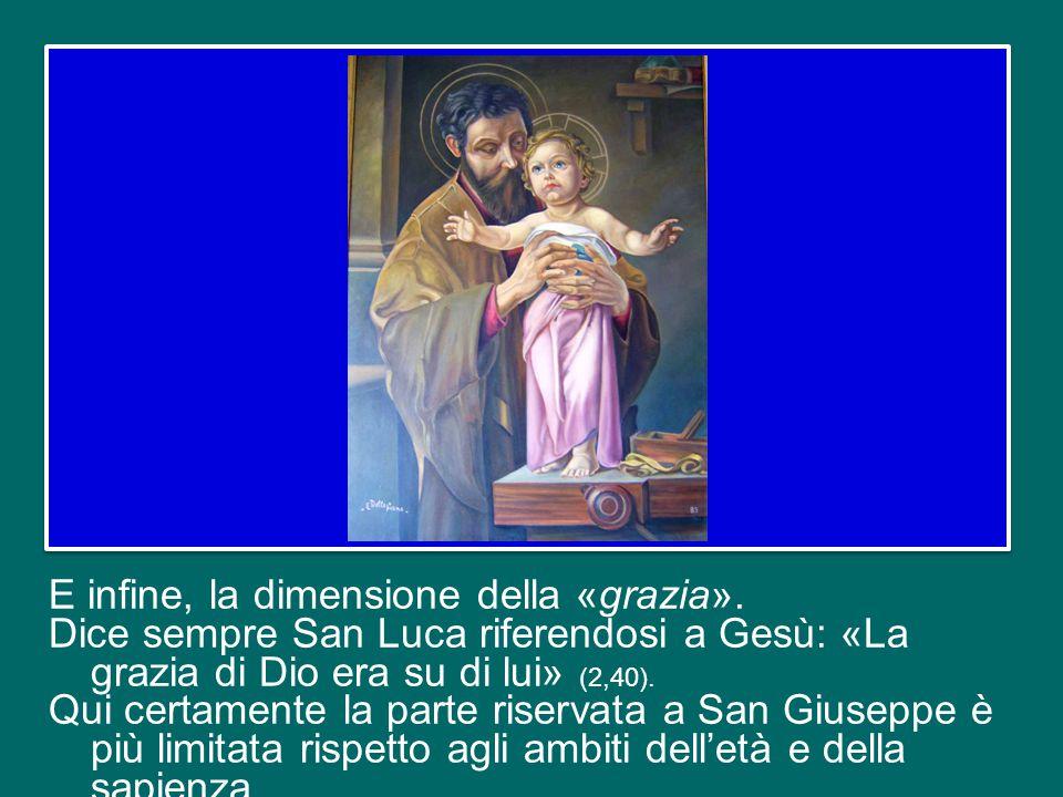 Possiamo pensare a come Giuseppe ha educato il piccolo Gesù ad ascoltare le Sacre Scritture, soprattutto accompagnandolo di sabato nella sinagoga di N