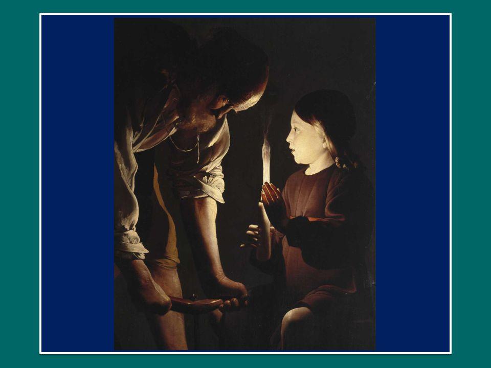 Possiamo pensare a come Giuseppe ha educato il piccolo Gesù ad ascoltare le Sacre Scritture, soprattutto accompagnandolo di sabato nella sinagoga di Nazareth.