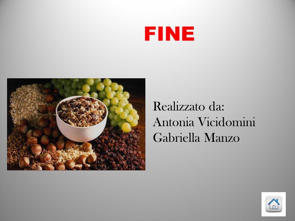 FINE Realizzato da: Antonia Vicidomini Gabriella Manzo