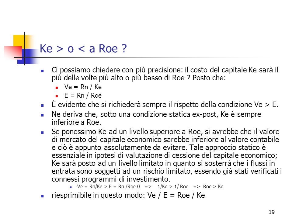 19 Ke > o < a Roe .