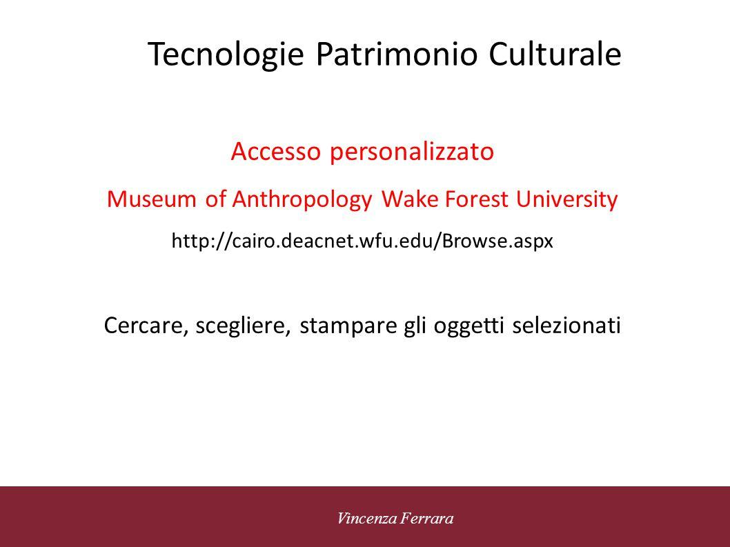 5 novembre 2010 Vincenza Ferrara Tecnologie Patrimonio Culturale Linked Data technology Permette di esporre, condividere e connettere dati attraverso URI Uri: posizione della risorsa (web,documento, immagine, etc..) su internet