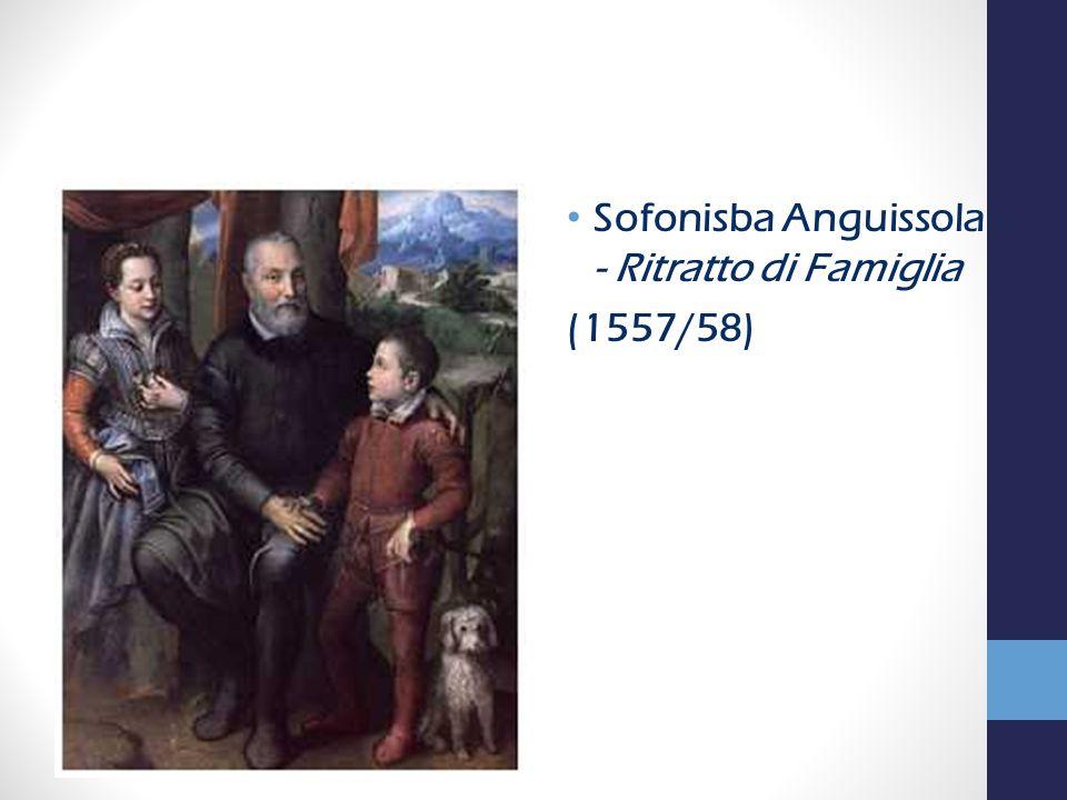Sofonisba Anguissola - Ritratto di Famiglia (1557/58)