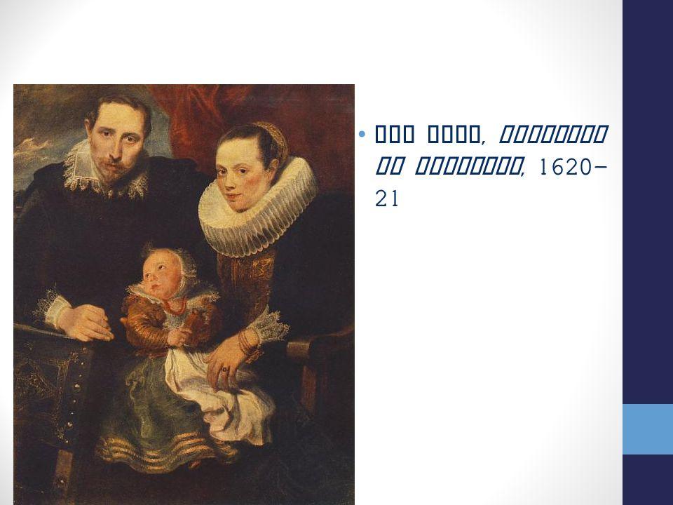Van Dyck, Ritratto di Famiglia, 1620- 21