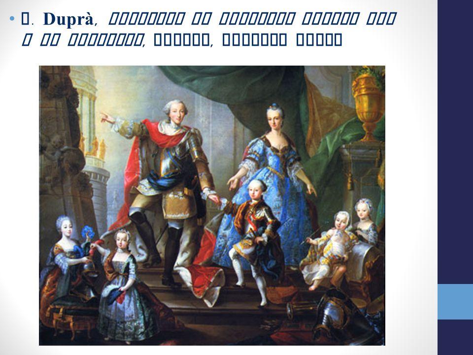G. Duprà, Ritratto di Vittorio Amedeo III e la famiglia, Torino, Palazzo Reale