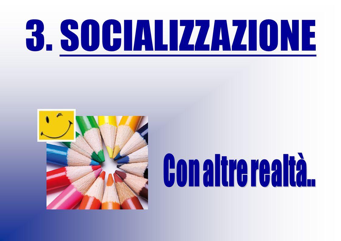 3. SOCIALIZZAZIONE