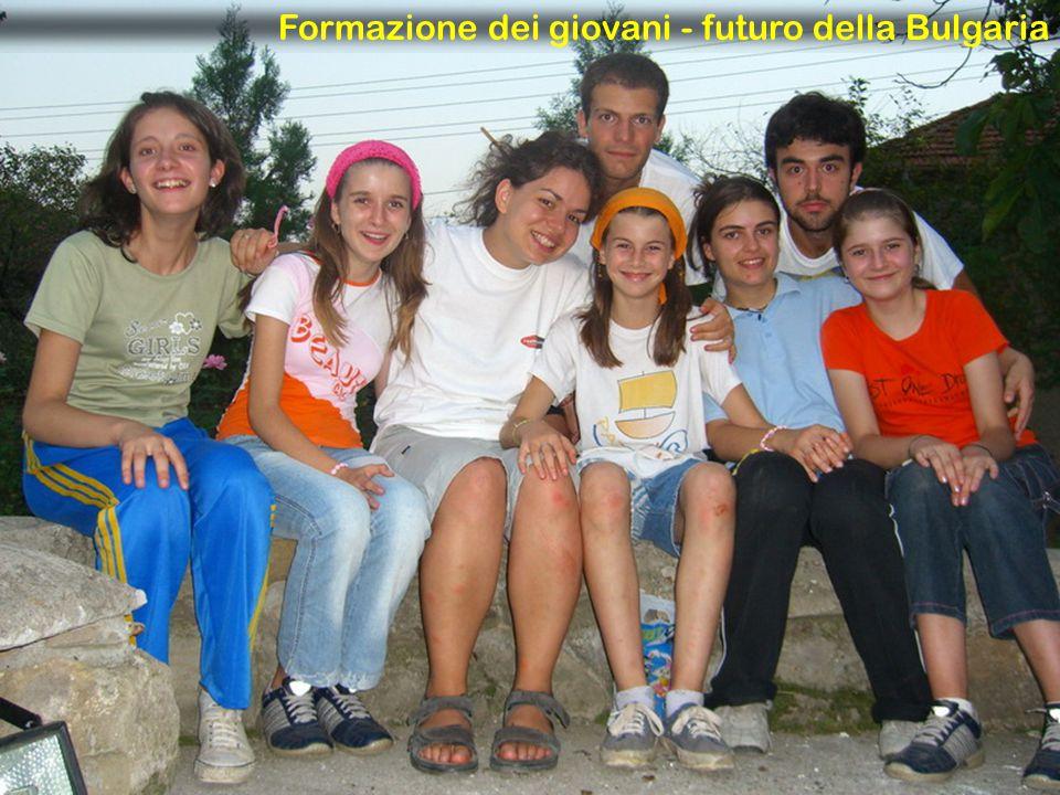 Formazione dei giovani - futuro della Bulgaria