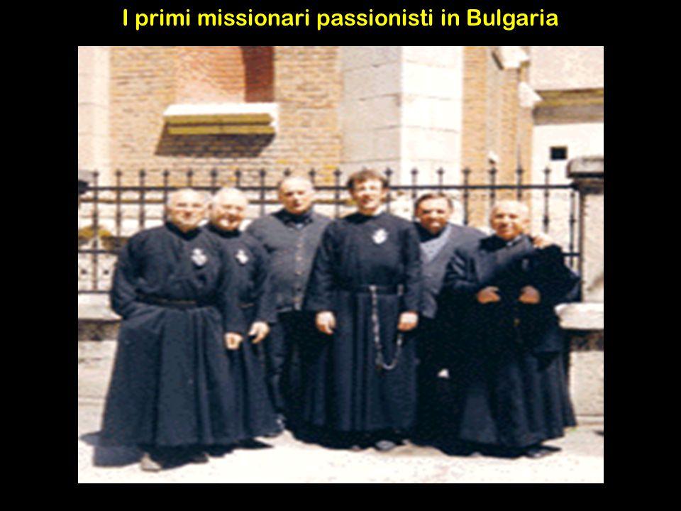 I primi missionari passionisti in Bulgaria