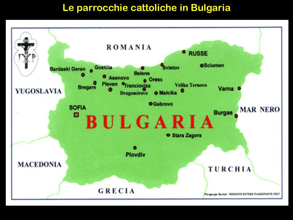 Le parrocchie cattoliche in Bulgaria