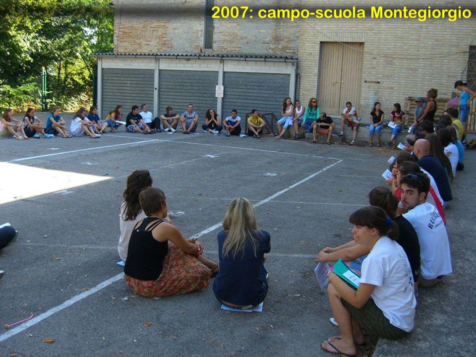 2007: campo-scuola Montegiorgio