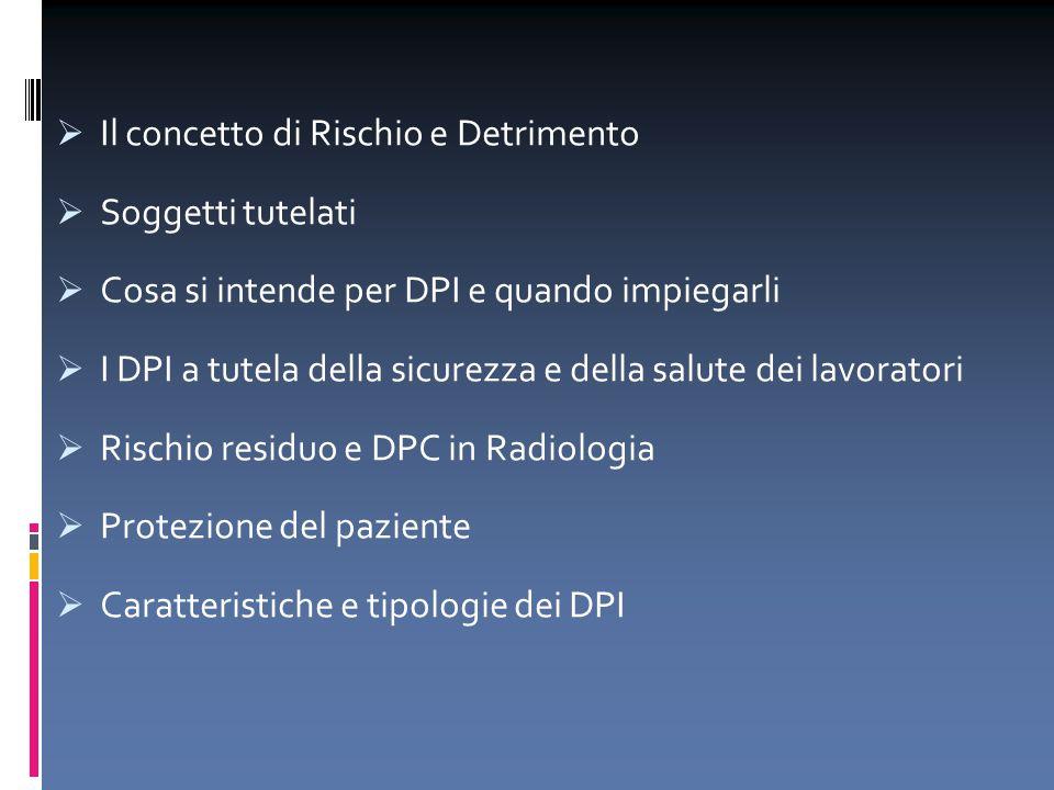 1.individua le caratteristiche dei DPI necessarie; 2.