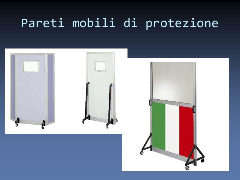 Pareti mobili di protezione