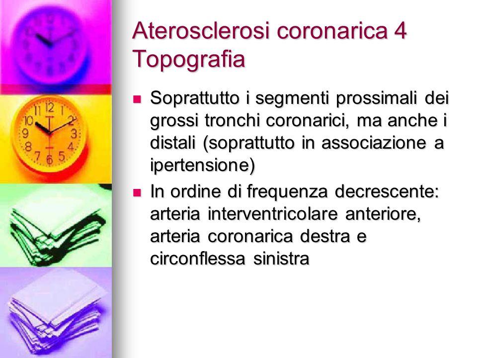 IMA Patologia 2 Se si lascia persistere l'ischemia per 25-30 minuti, sporadici miociti mostrano segni elettronmicroscopici di necrosi Se si lascia persistere l'ischemia per 25-30 minuti, sporadici miociti mostrano segni elettronmicroscopici di necrosi Con il protrarsi dell'ischemia un sempre maggior numero di miociti va incontro a necrosi Con il protrarsi dell'ischemia un sempre maggior numero di miociti va incontro a necrosi