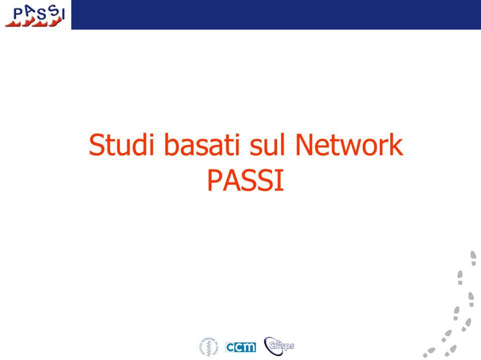 Studi basati sul Network PASSI