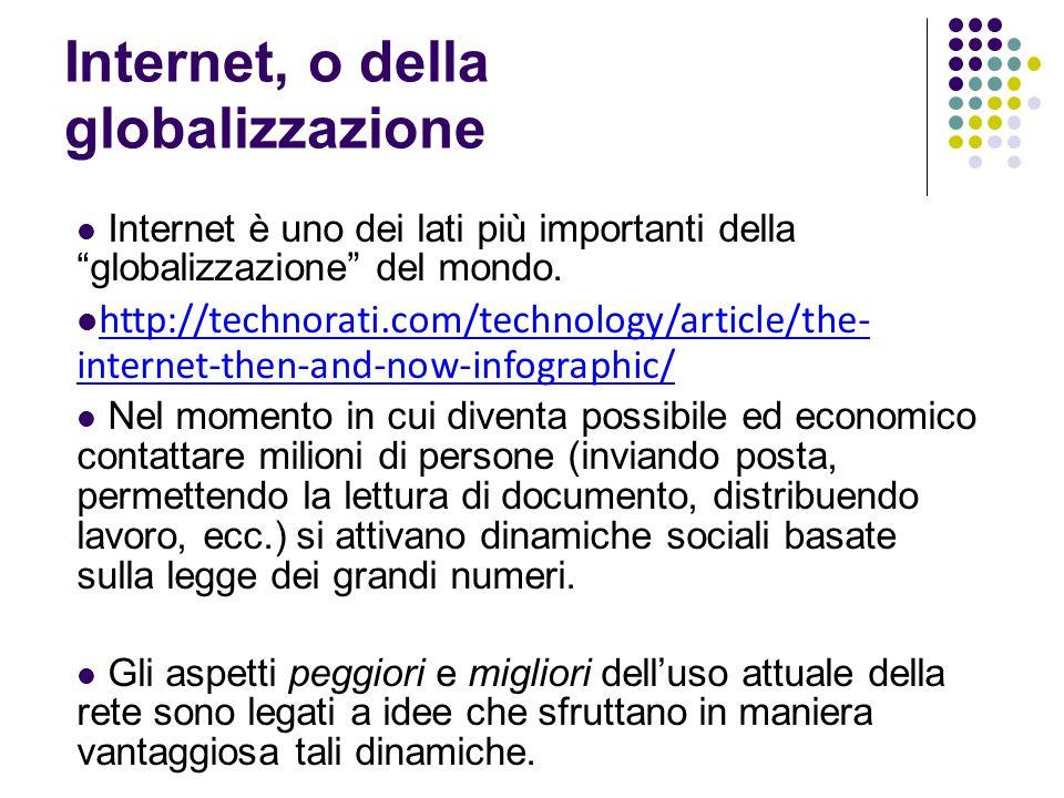 """Internet, o della globalizzazione Internet è uno dei lati più importanti della """"globalizzazione"""" del mondo. http://technorati.com/technology/article/t"""