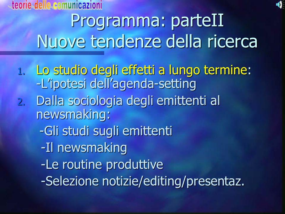 Communication Research La crisi: fattori di superamento 1. Si impone l'approccio sociologico Sociologia della conoscenza (Eu) +Studio delle comunicaz.
