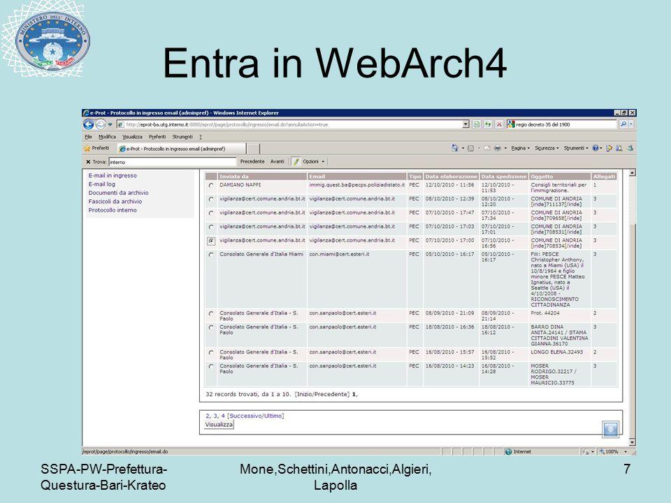 SSPA-PW-Prefettura- Questura-Bari-Krateo Mone,Schettini,Antonacci,Algieri, Lapolla 7 Entra in WebArch4