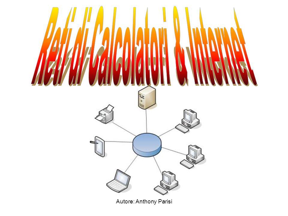 Rete di calcolatori Internet Vantaggi e svantaggi nell'usare internet Tipi di linee