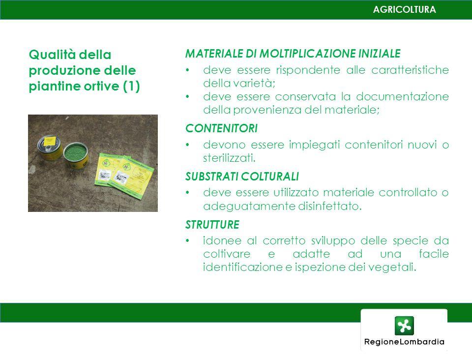 Esito dei controlli condotti nel periodo 2000 - 2010 Esito dei controlli varietali 95 % di conformità' Esito dei controlli fitosanitari di laboratorio 100% Negativi