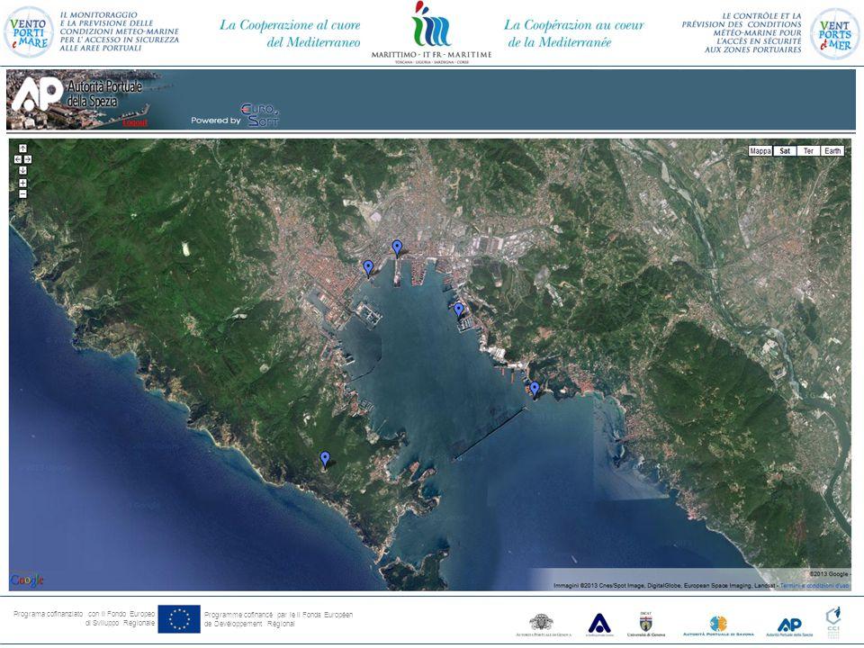 Programa cofinanziato con il Fondo Europeo di Sviluppo Regionale Programme cofinancé par le il Fonds Européen de Devéloppement Régional