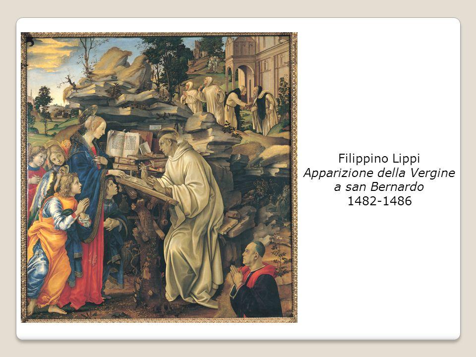 Filippino Lippi Apparizione della Vergine a san Bernardo 1482-1486