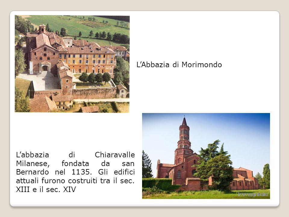 L'abbazia di Chiaravalle Milanese, fondata da san Bernardo nel 1135.