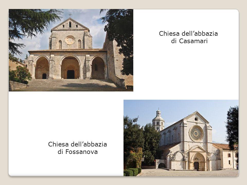 Chiesa dell'abbazia di Casamari Chiesa dell'abbazia di Fossanova