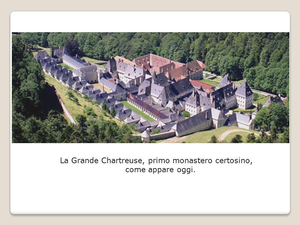 La Grande Chartreuse, primo monastero certosino, come appare oggi.