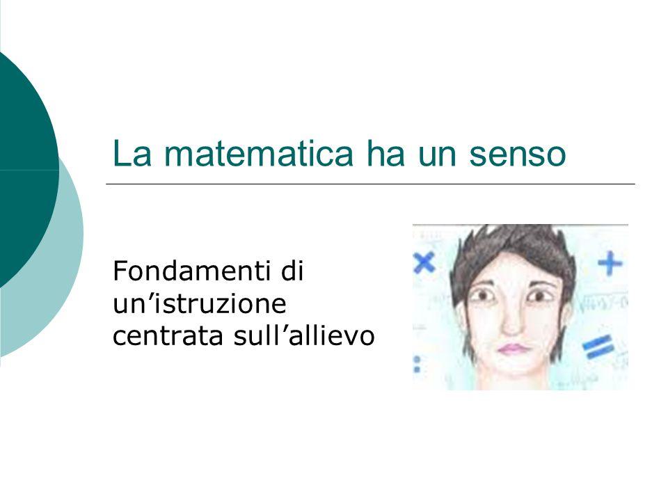Che cos'è la matematica.