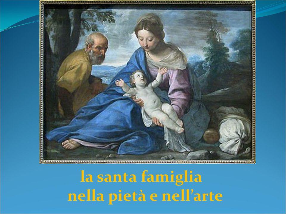 la santa famiglia nella pietà e nell'arte