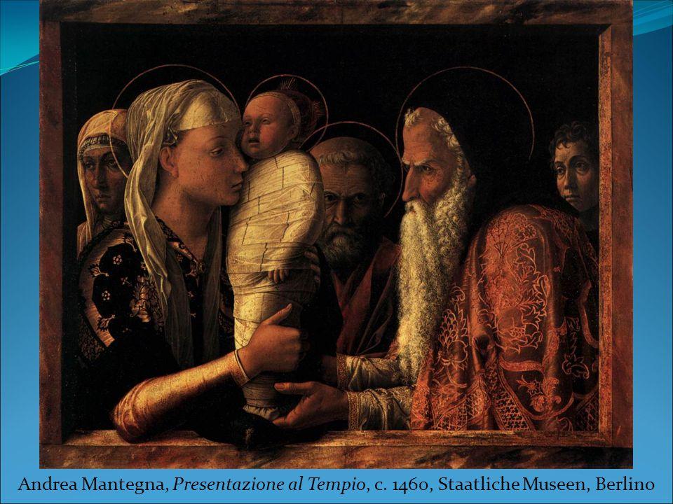 Andrea Mantegna, Presentazione al Tempio, c. 1460, Staatliche Museen, Berlino