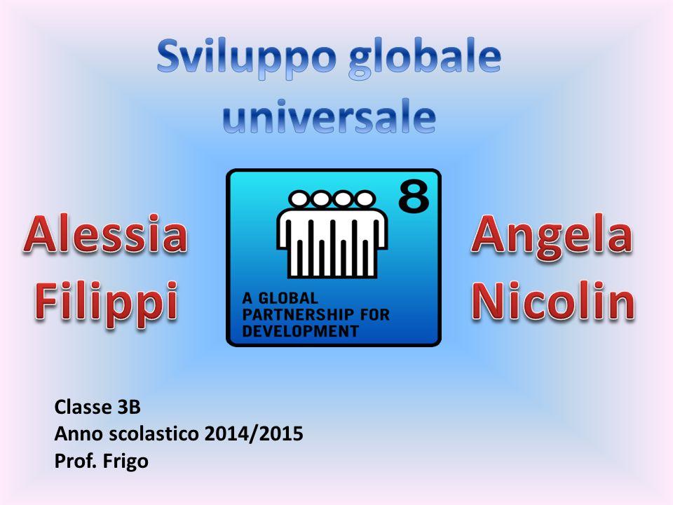 Nel 2000, 189 Paesi hanno sottoscritto un patto globale,l' United Nations Millennium Declaration, che stabilisce 8 obiettivi essenziali da raggiungere entro il 2015.