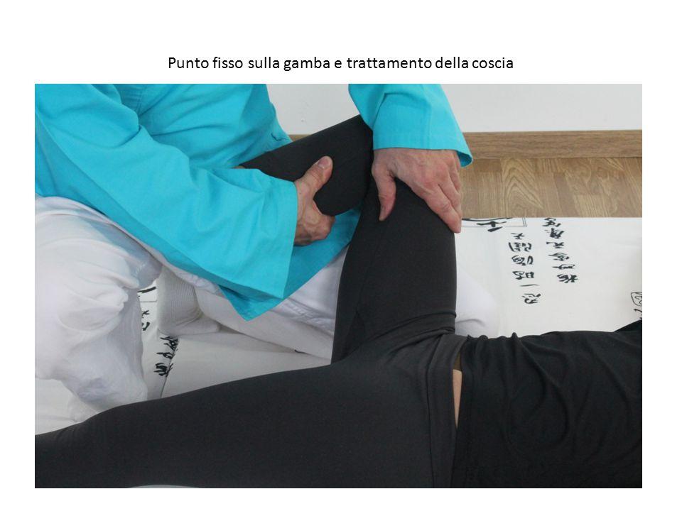 Punto fisso sulla gamba e trattamento della coscia