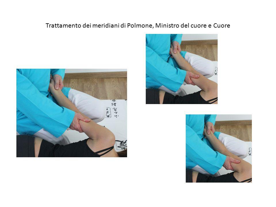 Trattamento dei meridiani di Polmone, Ministro del cuore e Cuore