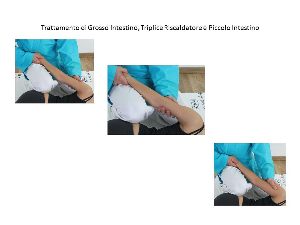 Trattamento di Grosso Intestino, Triplice Riscaldatore e Piccolo Intestino