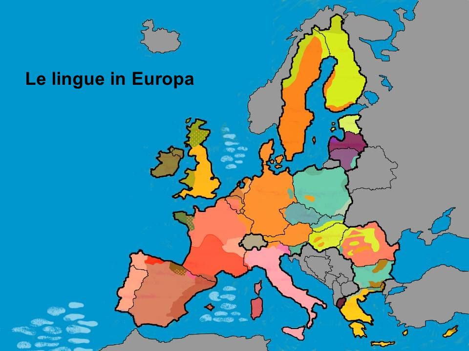 Le lingue in Europa