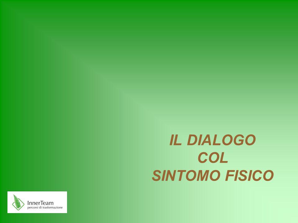 IL DIALOGO COL SINTOMO FISICO