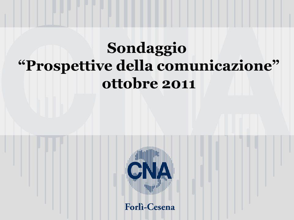 Sondaggio Prospettive della comunicazione ottobre 2011