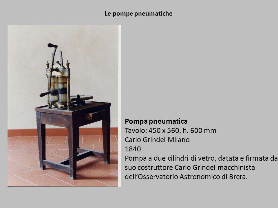 Le pompe pneumatiche Pompa pneumatica Tavolo: 450 x 560, h.