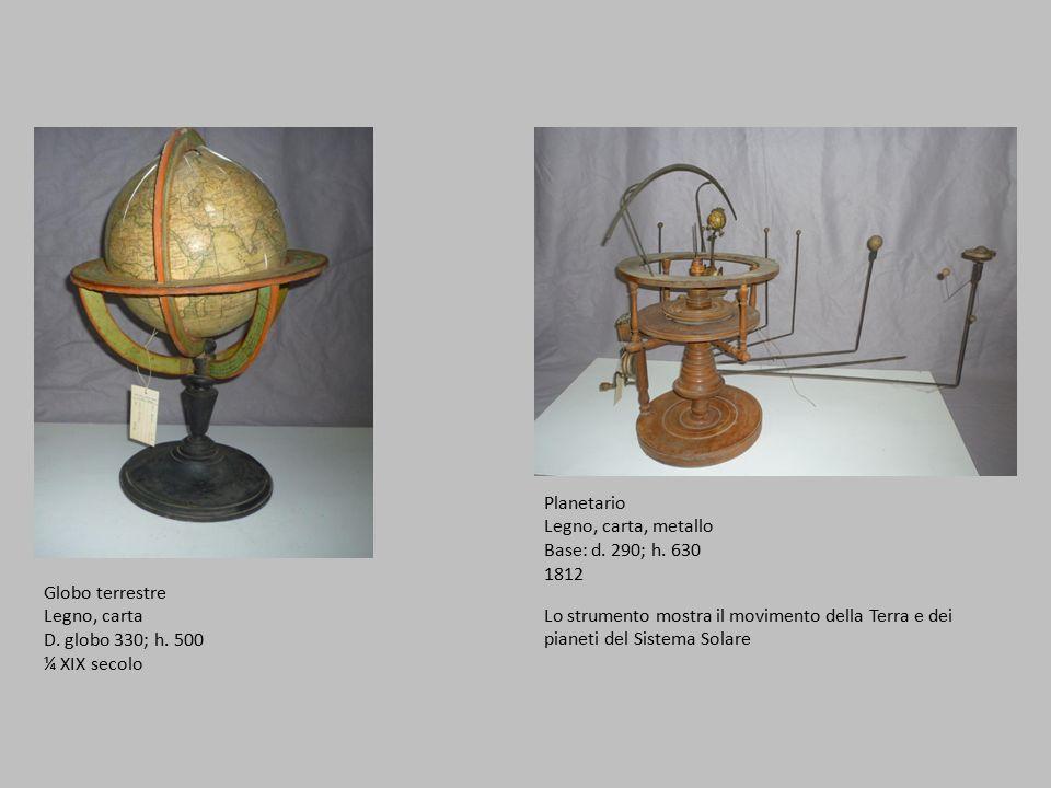 Planetario Legno, carta, metallo Base: d.290; h.