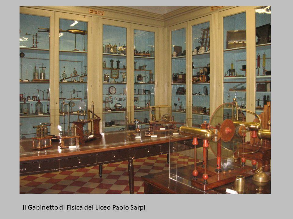 Il Gabinetto di Fisica del Liceo Paolo Sarpi